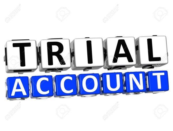 اکانت Trial سایت های مختلف