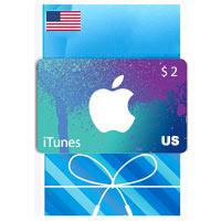 گیفت کارت ۲ دلاری آیتونز