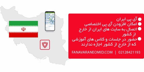 آی پی ایران فناوران امید